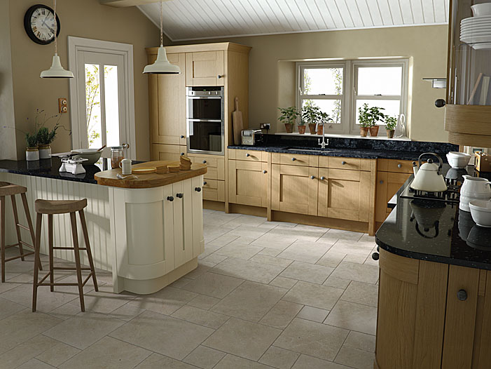 Milbourne Oak Dukes Kitchens