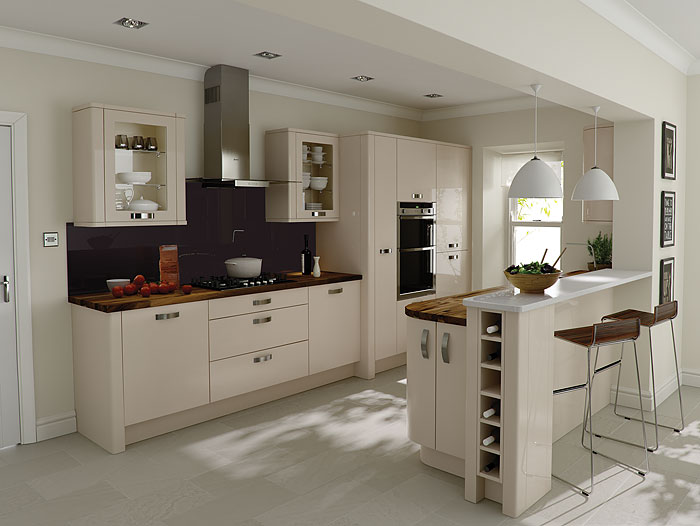 Porter beige dukes kitchens for Fitted kitchen designs