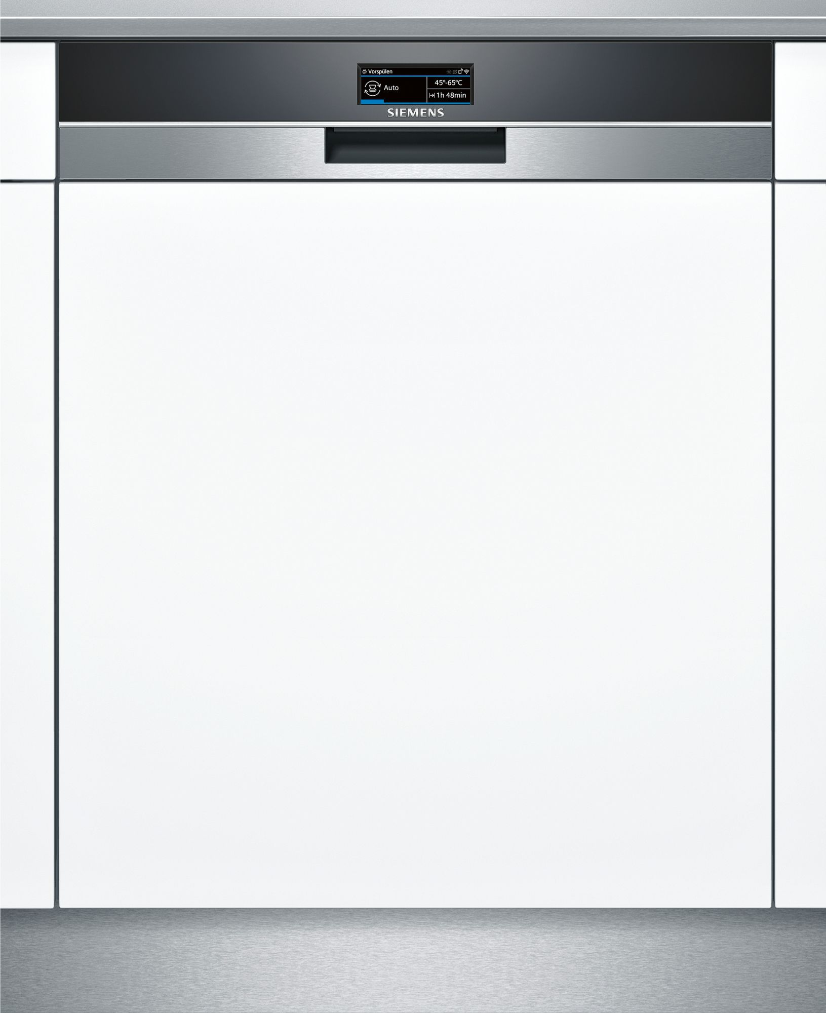 siemens - iq700 dishwasher 60cm, home connect wifi connectivity semi