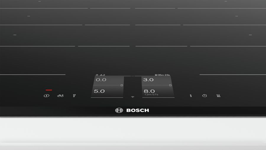 bosch series 8 80 cm induction hob glass ceramic. Black Bedroom Furniture Sets. Home Design Ideas